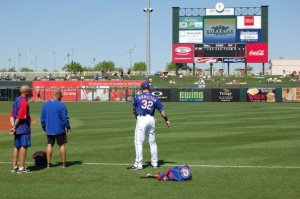 Spring Training at Surprise Stadium 2011