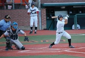 Marc Gallegos Corvallis Knights hitting