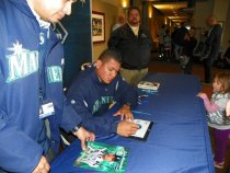 Felix Signing autographs at Fan Fest