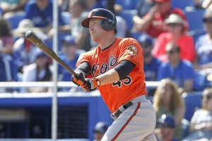 Trumbo stays put in Baltimore.