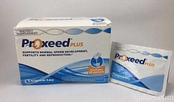 benefits of proxeed plus for male fertility by sigma