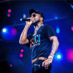 See What Fans Did To Davido During His Performance