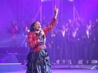 Sinach Becomes First African Artiste To Top USA's Billboard Chart For Christian Songwriters.