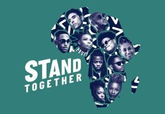 VIDEO: 2Baba, Yemi Alade, Teni & More - Stand Together (Prod by Cobhams Asuquo)
