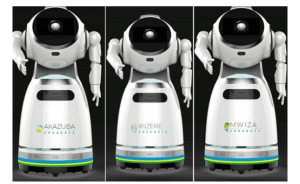 Rwanda Takes Delivery Of Robots That Can Screen '150 People Per Minute' For COVID-19(Photos)