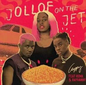 DJ Cuppy – Jollof On The Jet ft. Rema x Rayvanny