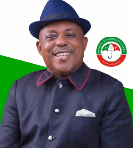 Only the most high God can heal Nigeria – Uche Secondus of PDP
