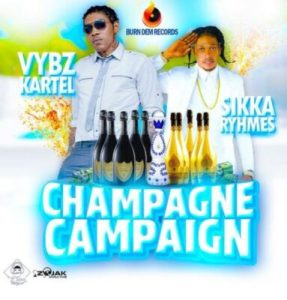DOWNLOAD MP3: Vybz Kartel ft. Sikka Rymes – Champagne Campaign