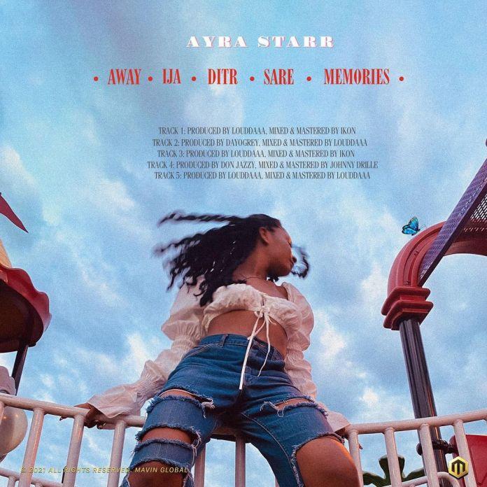 Ayra Starr EP Tracklist