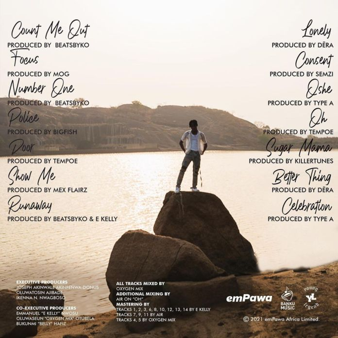 Somewhere Between Beauty & Magic (SBBM) Album tracklist