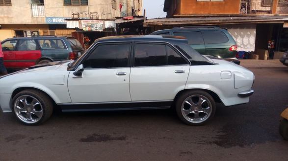 Man-Redesigns-An-Abandoned-Peugeot-504-In-Enugu5 Tech News Uncategorized  See What An Auto Designer Did With An Abandoned Peugeot 504 In Enugu (Photos)