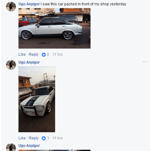 Man-Redesigns-An-Abandoned-Peugeot-504-In-Enugu8 Tech News Uncategorized  See What An Auto Designer Did With An Abandoned Peugeot 504 In Enugu (Photos)