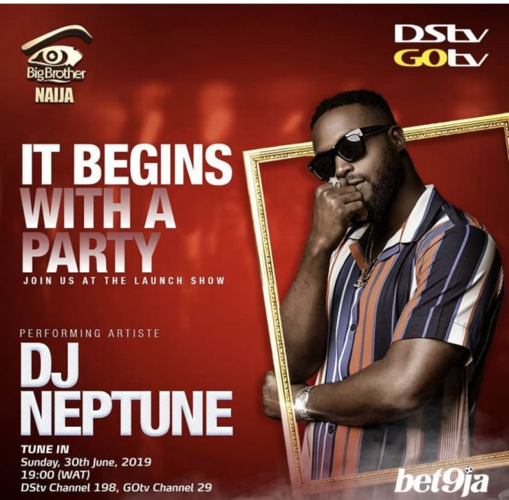 BURNA BOY, TENI, ZLATAN SET TO THRILL NIGERIANS AT BBNAIJA 2019 PREMIERE BURNA BOY, TENI, ZLATAN SET TO THRILL NIGERIANS AT BBNAIJA 2019 PREMIERE DJ NEPTUNE 1024x1006