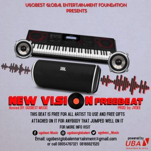 Ugobest Music Presents New Vision Free Beat For All Artistes To Use For Free
