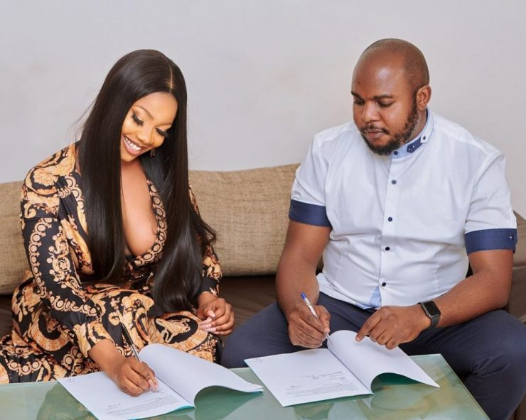 Tacha Becomes Face Of Royal Hair, Signs Ambassadorial Deal 10