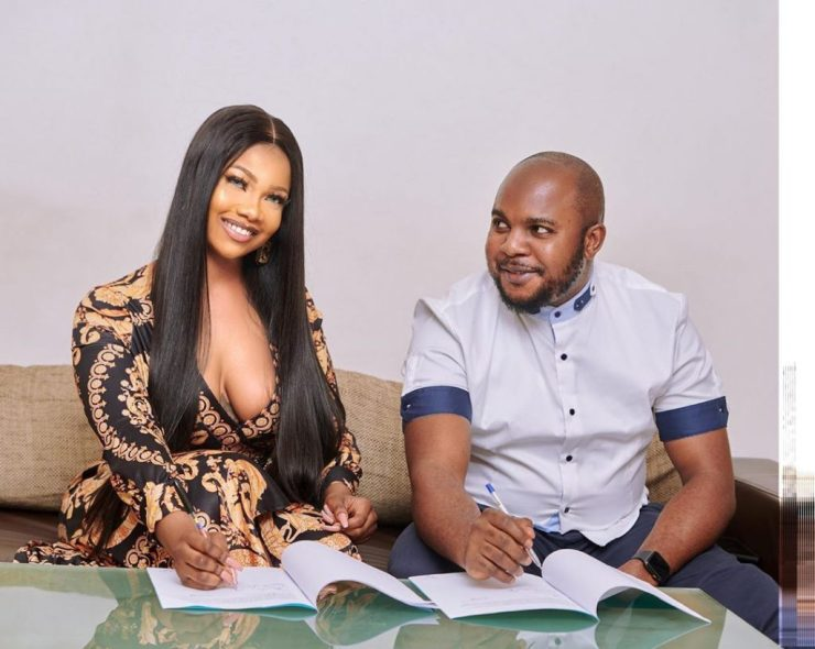 Tacha Becomes Face Of Royal Hair, Signs Ambassadorial Deal 12