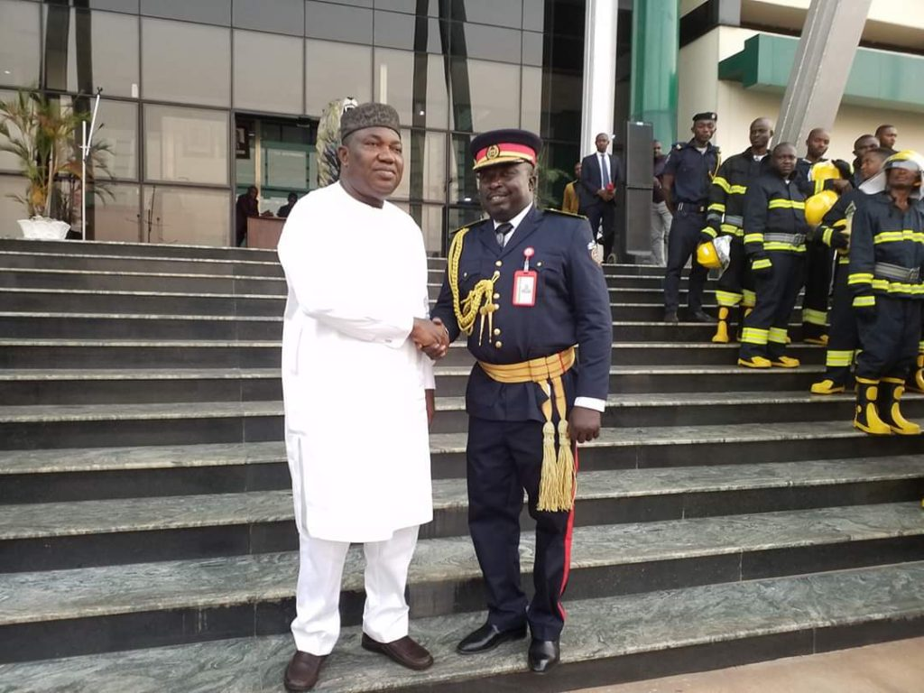 Ugwuanyi Hands Over Five Innoson Fire Fighting Trucks To State Fire Service