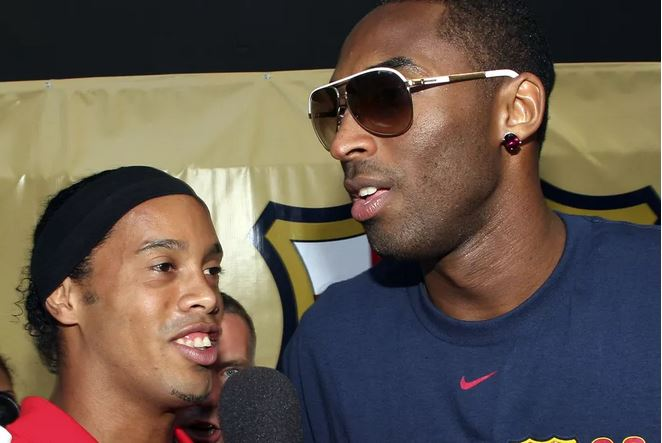 The Day Ronaldinho Introduced Kobe Bryant To A 17-Year-Old Lionel Messi