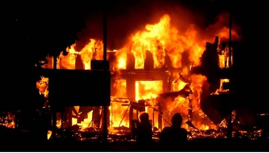 Properties Damaged As Fire Guts School Dormitory Again In Anambra