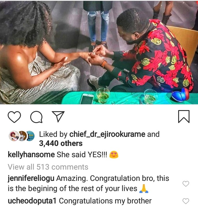 Yahooze Singer, Kelly Hansome Engaged (See Photos) 10