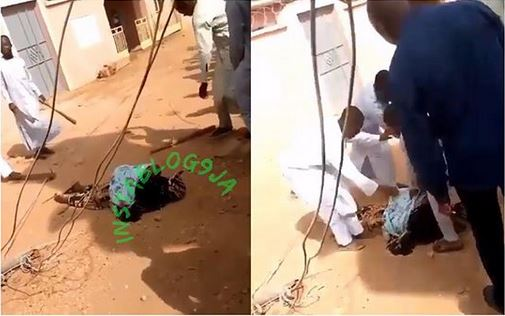 High Tension Cable Kills Lady And Her Child In Katsina (Photo)