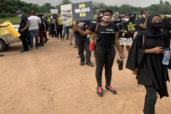 Protests Rock Lagos, Abuja Over Rising R*pe Cases, Sexual Assault Against Women (Photos) 3