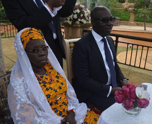 Obaseki Was Oshiomhole's Best Man At His Wedding To Iara (Throwback Photos) 4