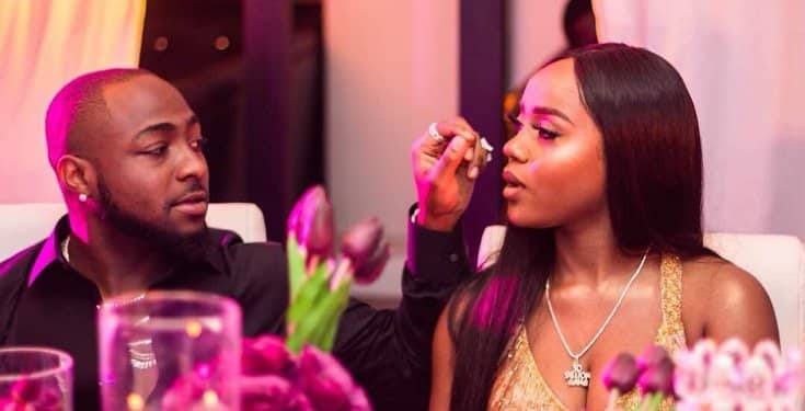 Davido And Chioma Seen Together While Chilling With Their Son, Ifeanyi (Photo) 1