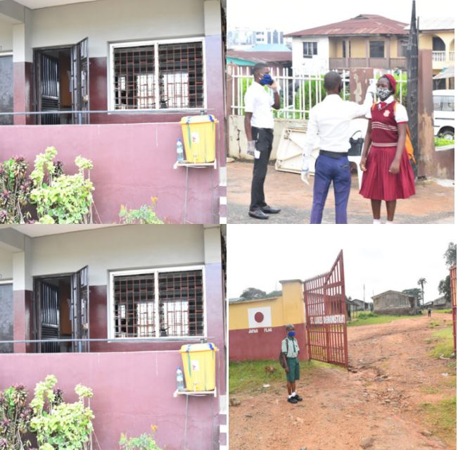 School Reopening: After Four Months, Oyo Schools Finally Reopen (Photos) 2