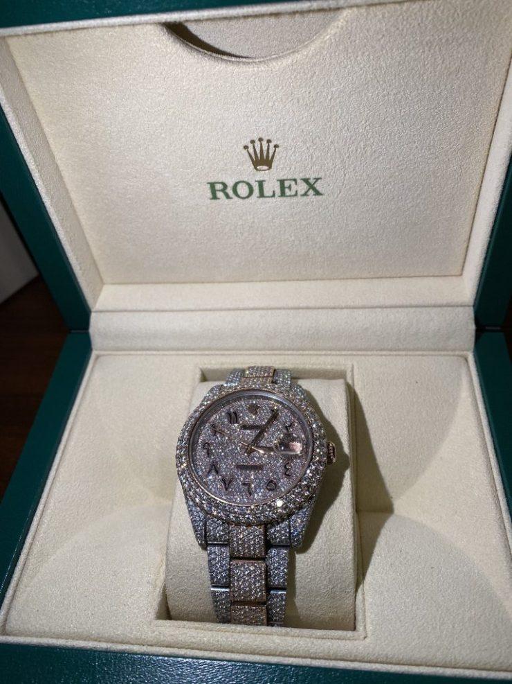Too Much Money! Davido Gifts His Cousin, Tunji Adeleke, A $40k Rolex (Photos) 7