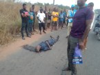 Man Killed By Hit And Run Driver In Anambra (Graphic Photo)