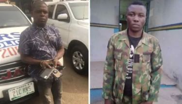 Police Officials Arrest Pickpocket, Dismissed Soldier For Robbery In Lagos