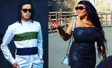 Cossy Ojiakor's Ex-fiance, Abel Covers Up Tattoo Of Her Name (Photos)