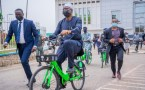 Seyi Makinde Rides On AWA Bike