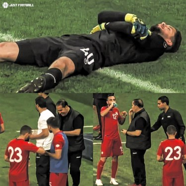 In Ramadan 2018, Tunisian Goalkeeper, Moez Hassan