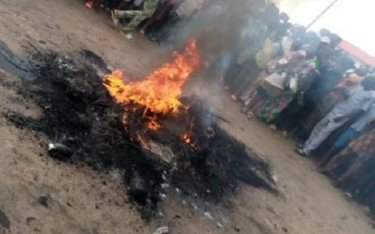 Imo Villagers Set Fleeing Prisoner Ablaze