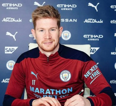 De Bruyne Signs Two-Year Contract Extension At Man City