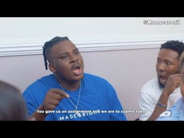 Download Comedy Video:- Mr Macaroni – The Serious Student