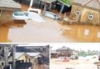 Flood Takes Over Ayesan Area Of Ijebu Ode After Rain