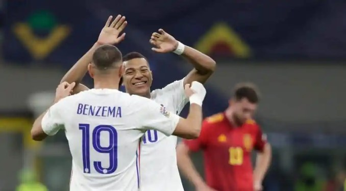 France Seal Comeback Win Against Spain To Land First UEFA Nations League Title