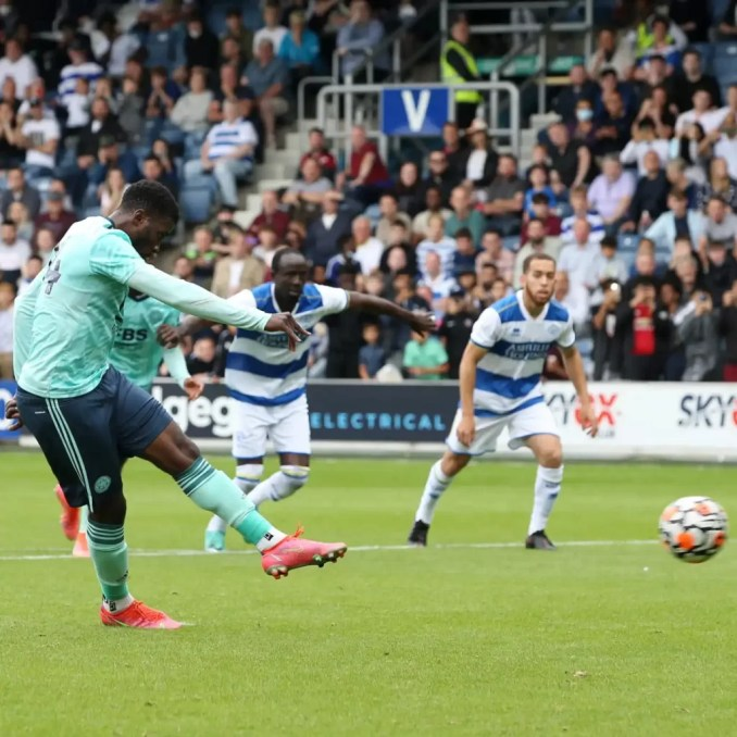 Iheanacho Up For Leicester City Goal Of The Month Award
