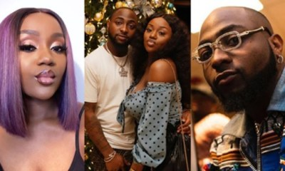 Davido's Chioma Fuels Breakup Rumour After Liking Controversial Post