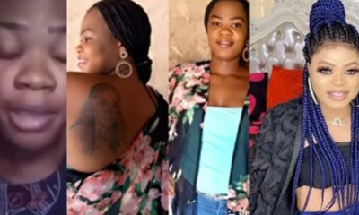 Lady Who Tattooed Bobrisky Cries Out