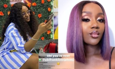 Chioma Shows Off Credit Alert