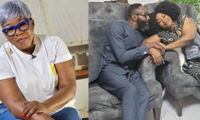 Ada Ameh Shows Off Her Man
