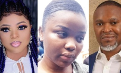 Bobrisky reacted to the murder of Super TV CEO