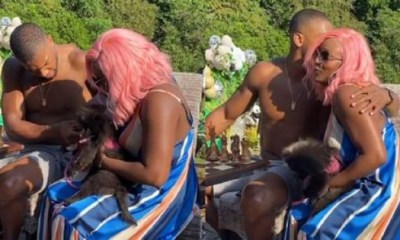 DJ Cuppy and Anthony Joshua Video