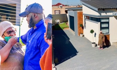 Man Gift His Mother A New House