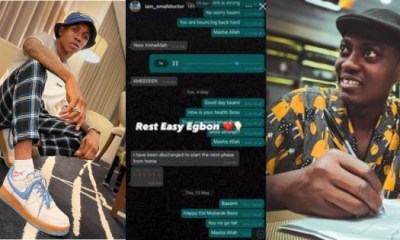 Small Doctor Shares Last WhatsApp Chat