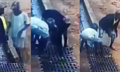 A CCTV Footage Of Iron Bars